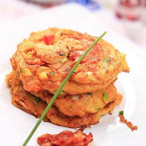海鲜泡菜贴饼