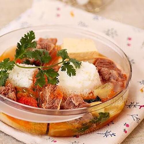 番茄牛肉蔬菜饭