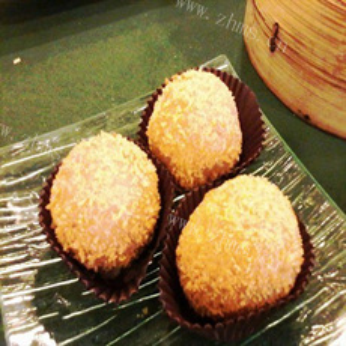 绿豆沙酿香芋