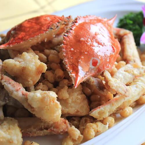 咸蛋沙花蟹