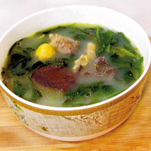 鸡杂枸杞汤