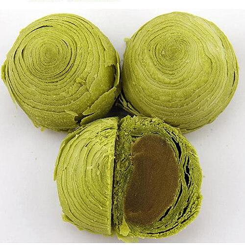 果酱绿茶酥