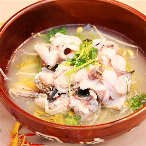 豆腐鮸鱼汤
