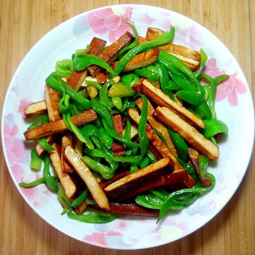 冬腌菜炒豆干