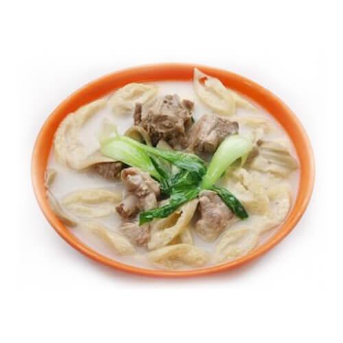 口蘑锅巴汤