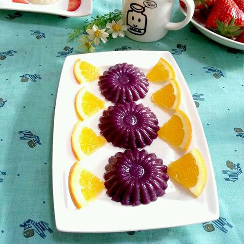 紫薯大米糕