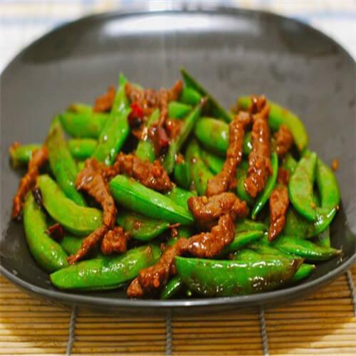 甜豆玉米肠