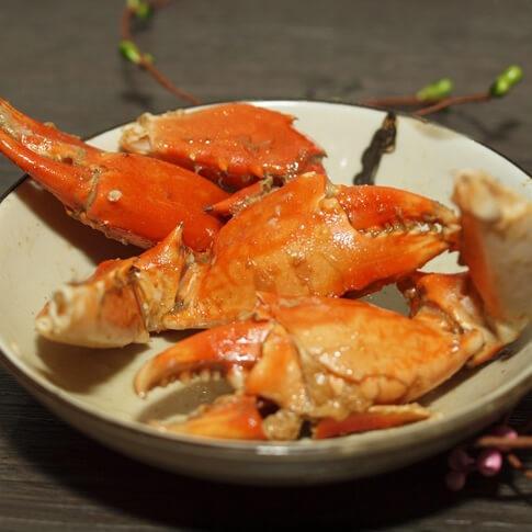 豆酱焗青蟹