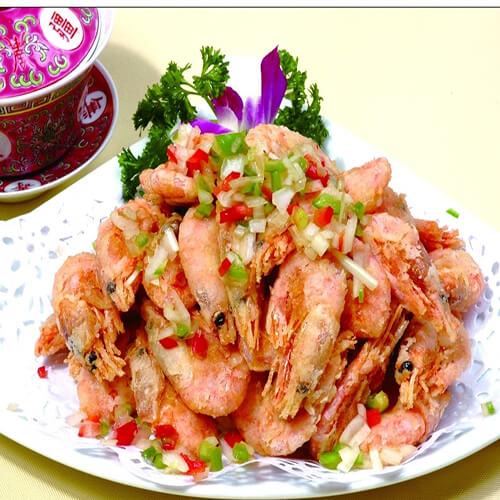 香酥椒盐北极虾