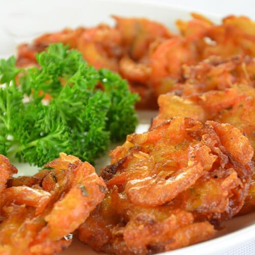 炸红萝卜海蛎饼