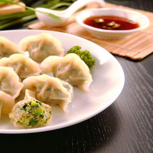 白菜韭菜猪肉水饺