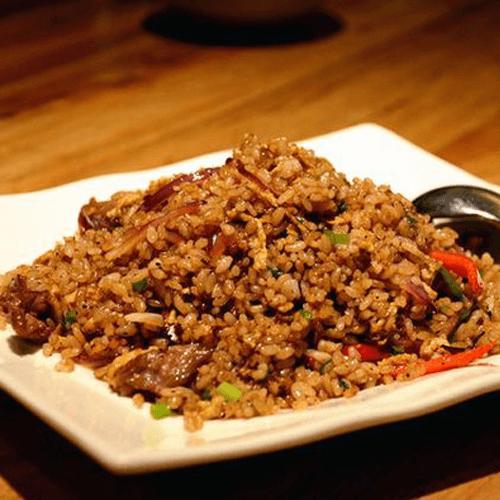 甜椒牛肉炒饭