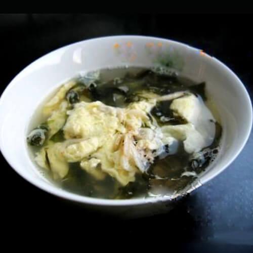 黄心菜鸡蛋汤