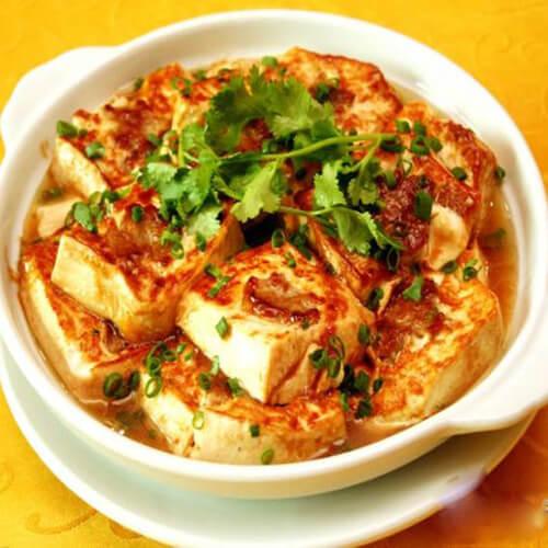 孜然酿豆腐