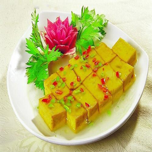 时蔬小豆腐