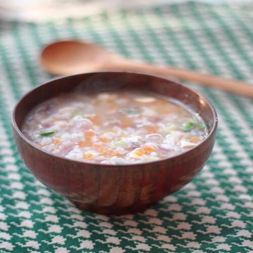 番茄蔬菜鱼丸粥