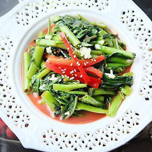 豆腐乳炒空心菜