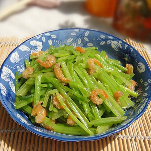 海米炒芹菜