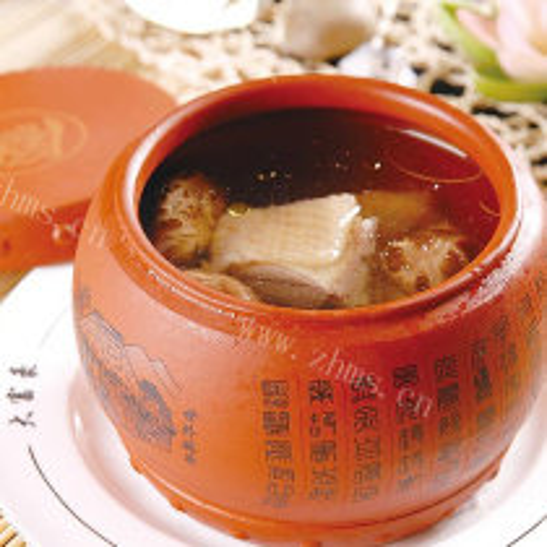 野香菇鸡汤