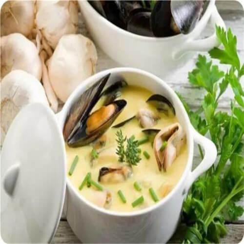白萝卜煮蛤蜊瘦肉汤