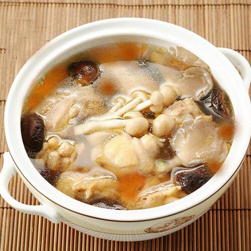 姬菇番茄猪骨汤