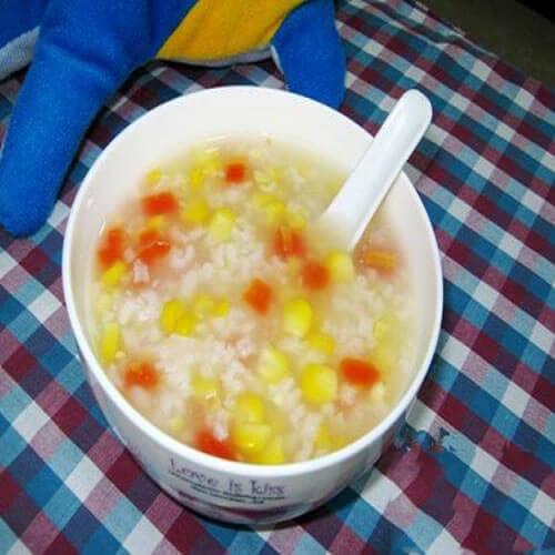 玉米心肝粥
