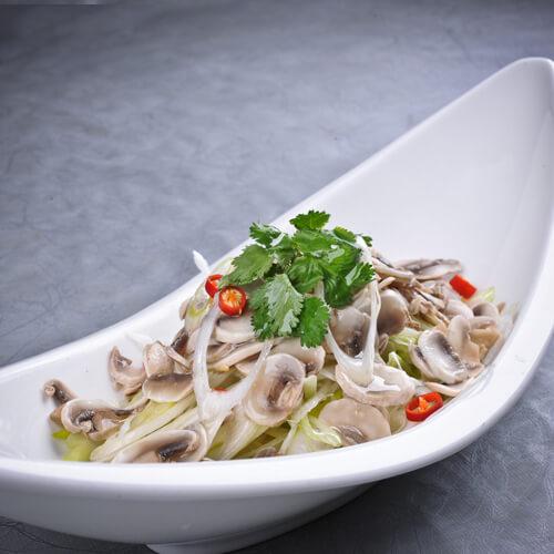 榛蘑白菜炒肉