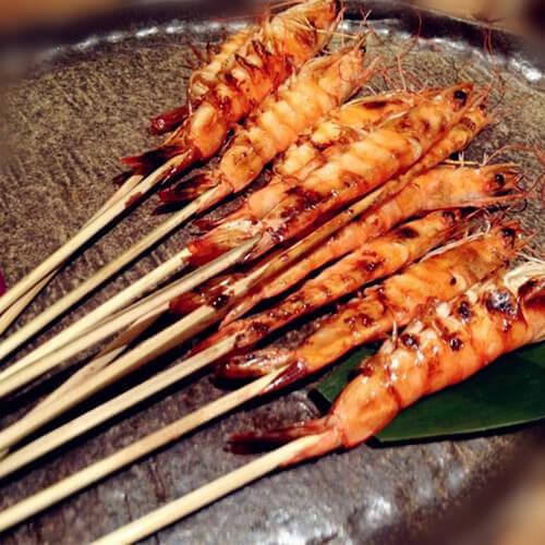 香烤串串虾