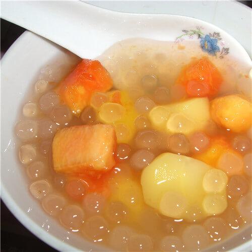 木瓜牛油果甜品