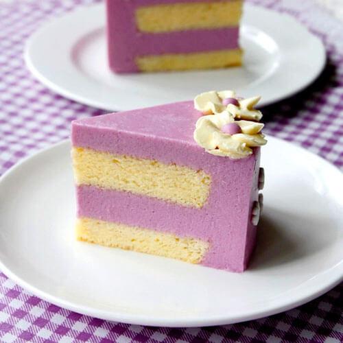 紫薯酸奶小蛋糕