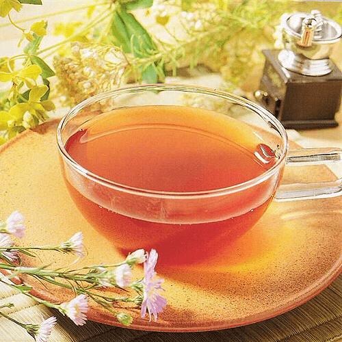 胎菊紫罗兰薄荷茶