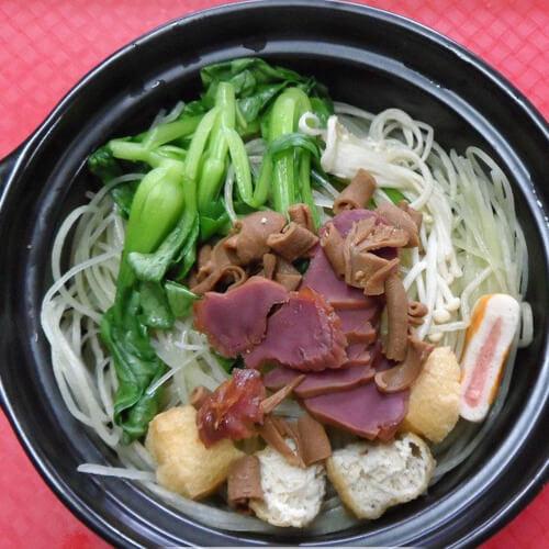 砂锅豆泡白菜煲