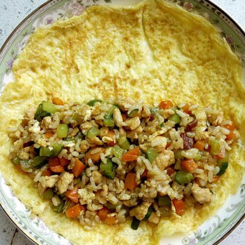 糙米蛋包饭