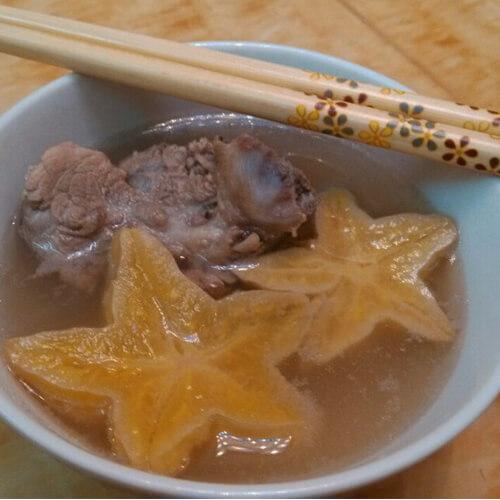 杨桃瘦肉汤
