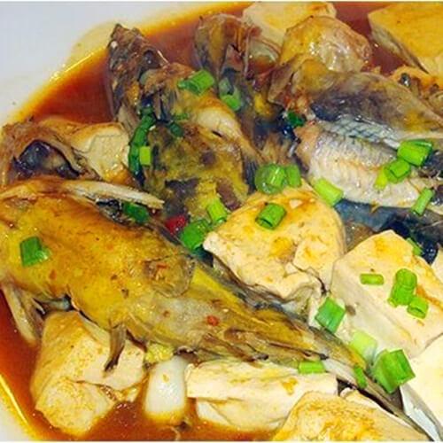 姜葱鮸鱼块