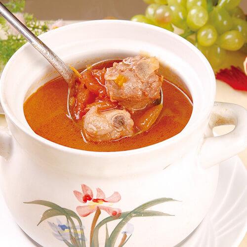 番茄发菜排骨汤