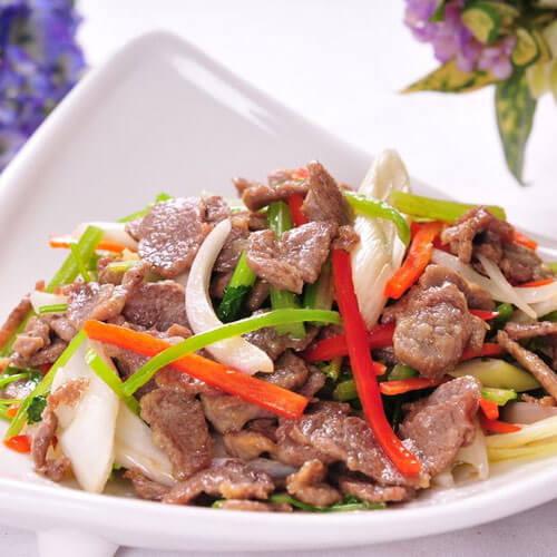 生炒羊肉——下酒菜