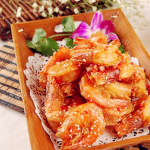 盐炒基围虾