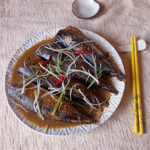 酱烧鲐鲅鱼