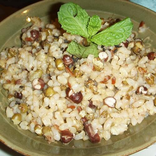 大麦糙米饭