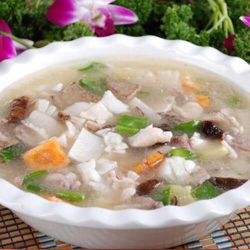 鱼腥草肉羹汤