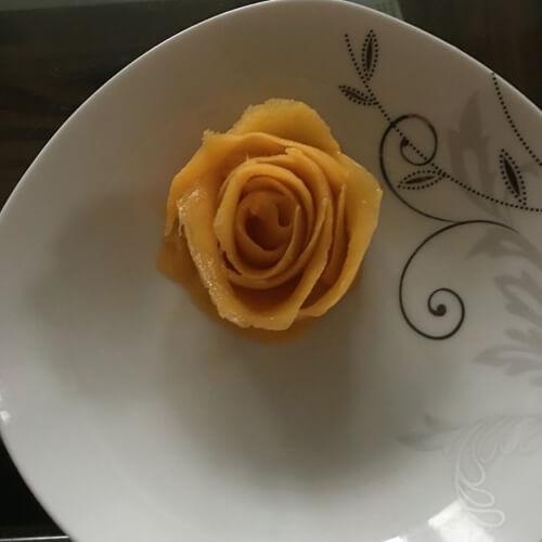 精美的甜瓜雕花