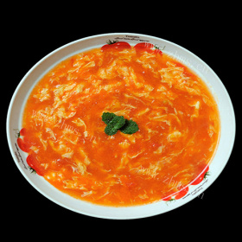 裙带菜番茄汤