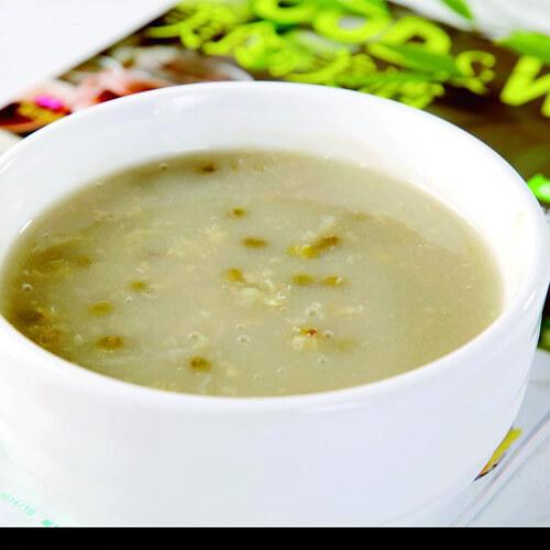 茯苓绿豆粥