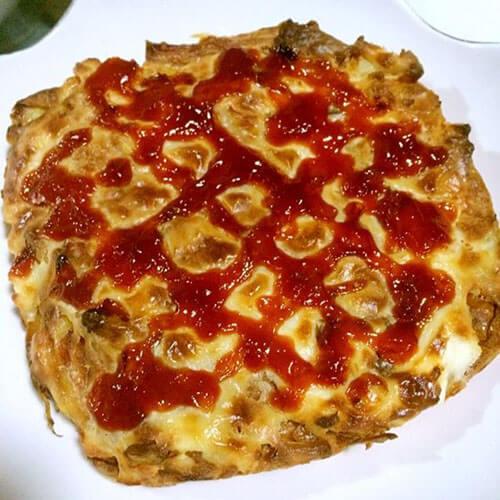 土豆饼版简易披萨