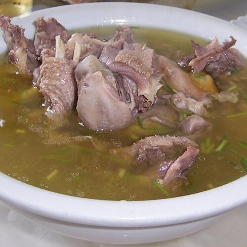 营养的田园鹅汤