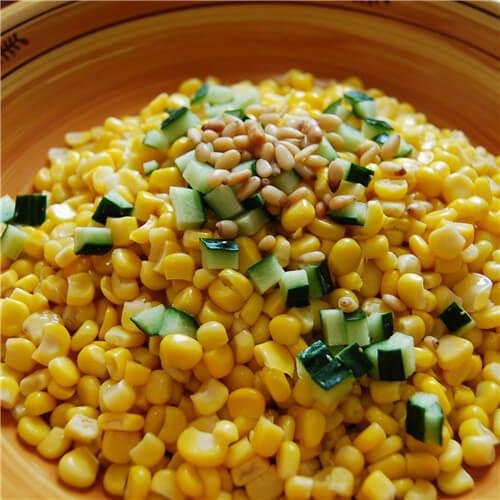 果仁香玉米