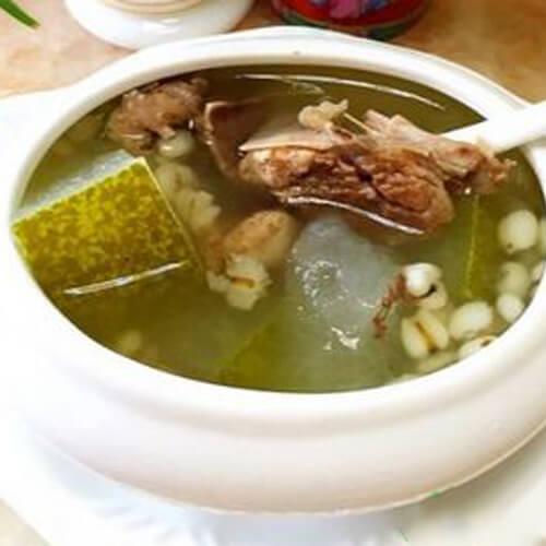 骨头薏米赤小豆冬瓜汤