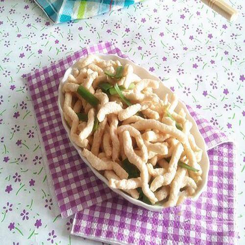 韭菜素肉丝