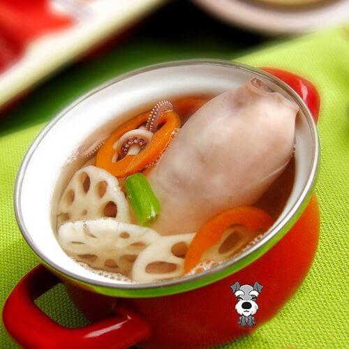 章鱼萝卜汤